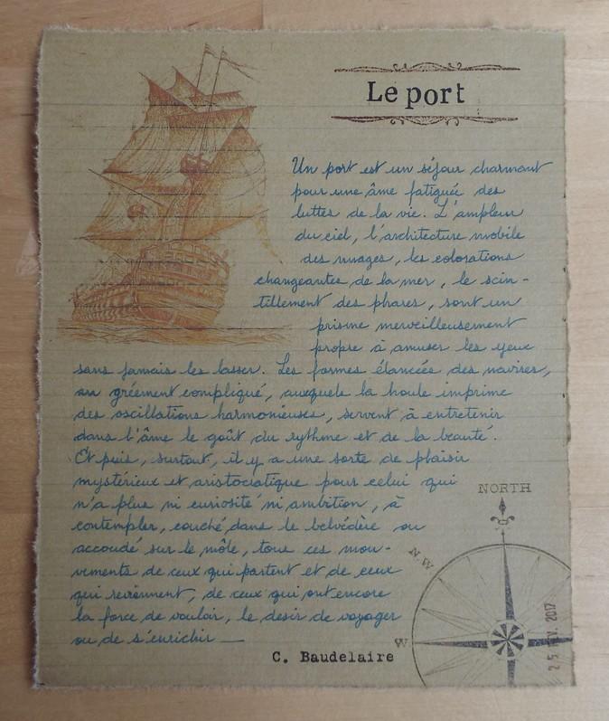 Le port de Charles Baudelaire
