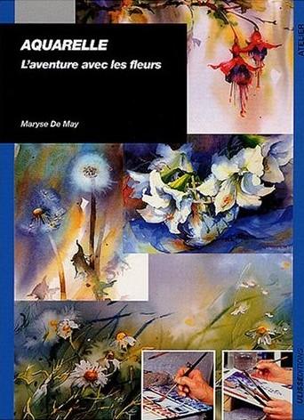 aquarelle l'aventure avec les fleurs