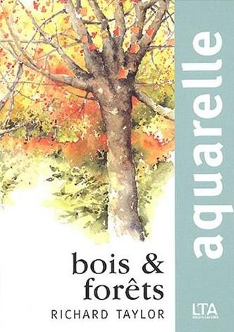 aquarelle bois et forêts