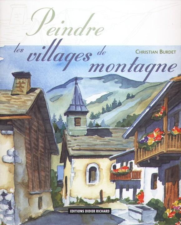 peindre les villages de montagnes