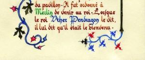 bordure calligraphie
